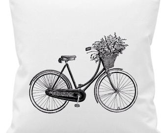 Bicycle Graphic Cushion