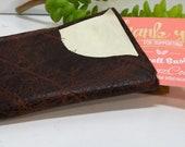 Handmade Genuine Leather Minimalist front pocket card holder