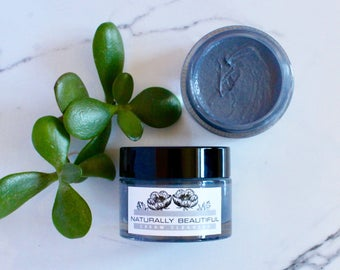 Charcoal Cream Face Cleanser - Facial Cleanser - Natural Skincare - Charcoal Cleanser - Dry Skin Cleanser - Organic - Face Soap