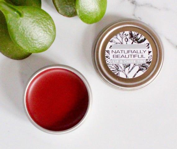 how to make organic lip tint