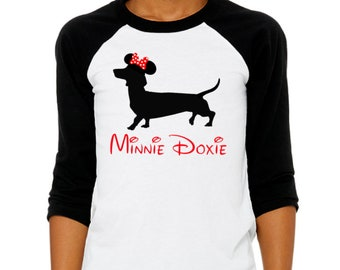MINNIE DOXIE 3/4 Sleeve YOUTH T Shirt