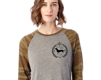 STANDARD ISSUE DOXIE 3/4 T-Shirt