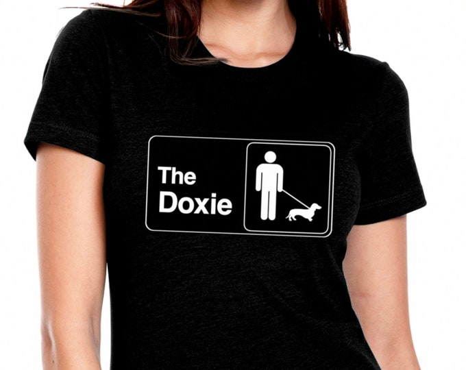 Featured listing image: THE OFFICE DOXIE Womens T Shirt in Black