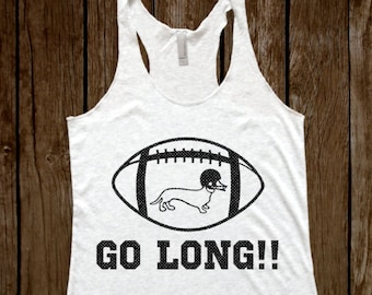 GO LONG!! Heather White Tank Top