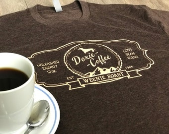 DOXiE COFFEE / WEENIE ROAST Espresso Women's T Shirt