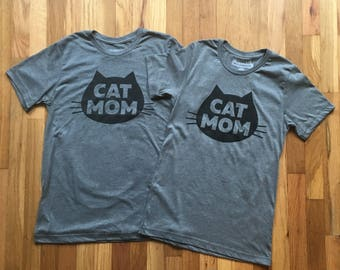 Matching Cat Mom Tee Deal for the Purrrfect Couple