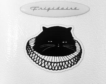 Elizabethan Cat Refrigerator Magnet