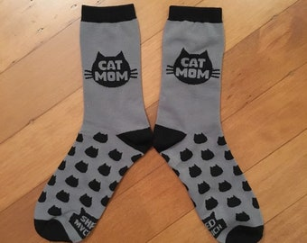 Cat Mom Socks, The Original Cat Mom socks