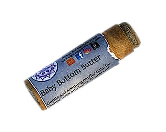 Baby Bottom Butter - Biodegradable Tube - Barrier Balm