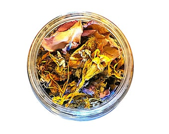 Herbal Uplift Me Tea - Wildcrafted - Medicinal - Zero Waste - Loose Leaf