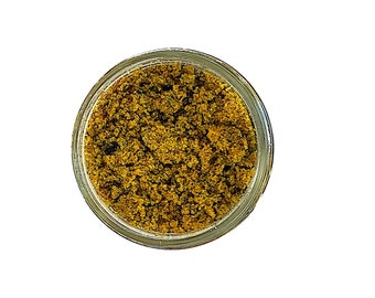 Brightening Herbal Face Scrub - Zero Waste - Wildcrafted Herbs