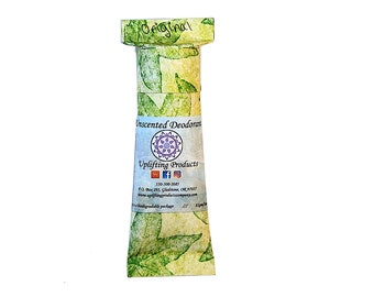Organic Unscented Aluminum Free Deodorant - Biodegradable Tube