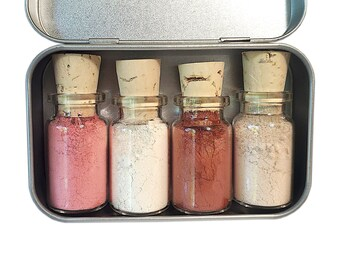 Strawberry Milkshake Mineral Eyeshadow Palette - Zero Waste - Chemical Free