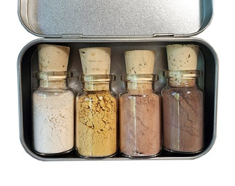 The Perfect Combo Mineral Eyeshadow Palette - Zero Waste - Chemical Free