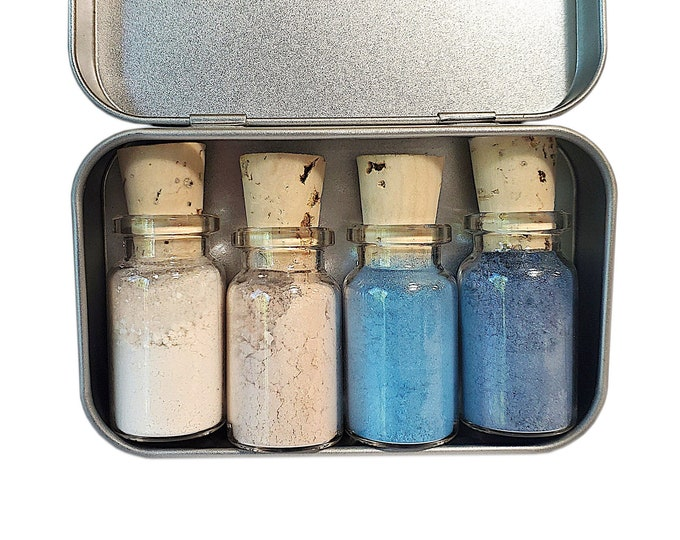 First Frost Mineral Eyeshadow Palette - Zero Waste - Chemical Free