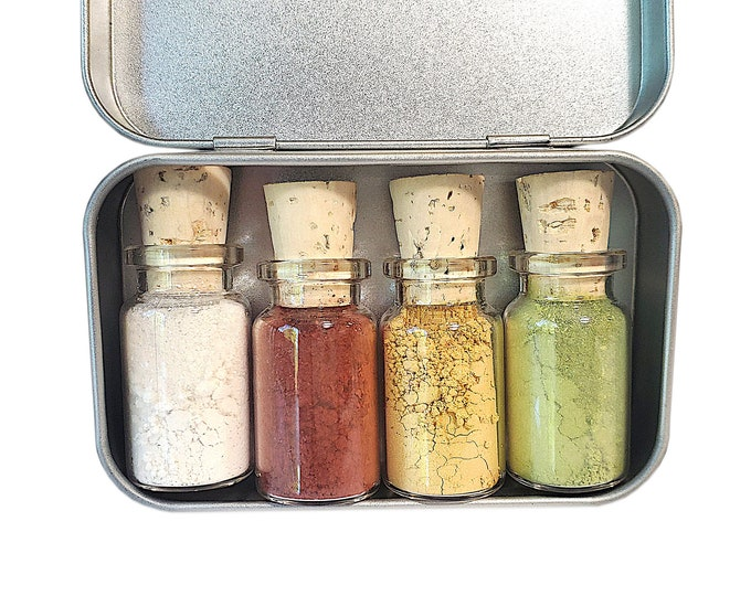 Christmas Present Mineral Eyeshadow Palette - Zero Waste - Chemical Free