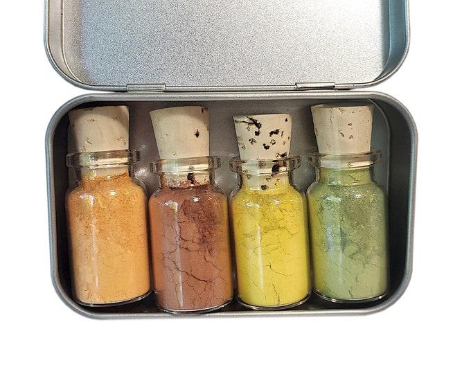 Harvest Moon Mineral Eyeshadow Palette - Zero Waste - Chemical Free