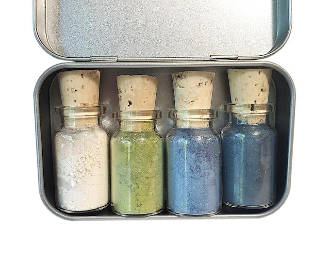 12th Man Seahawks Mineral Eyeshadow Palette - Zero Waste - Chemical Free