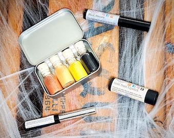 Petrifying Pumpkin Zero Waste Mineral Eyeshadow Palette + Costume Combo - Hypoallergenic