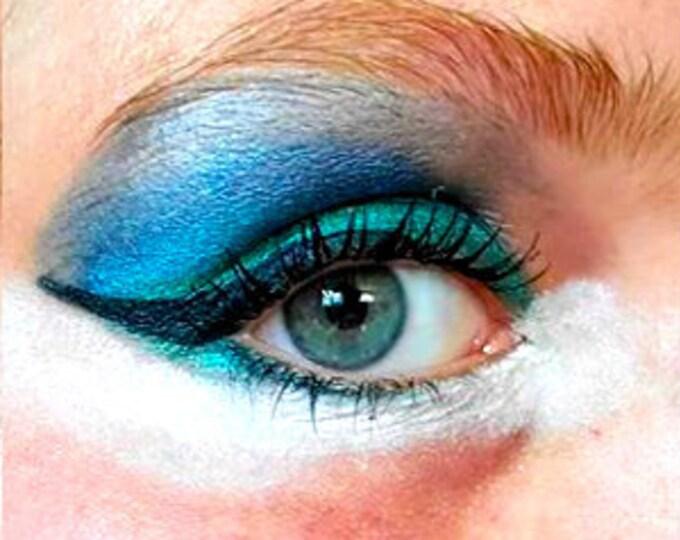 WingWorthy! Liquid Dark Blue Eyeliner -Hypoallergenic - Chemical Free - Water Resistant