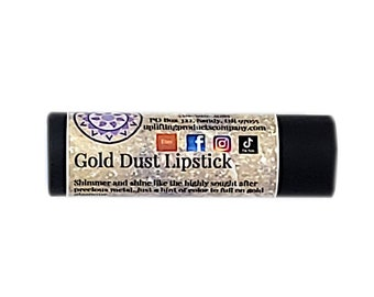 Gold Dust Lipstick - Chemical Free Cocoa Butter