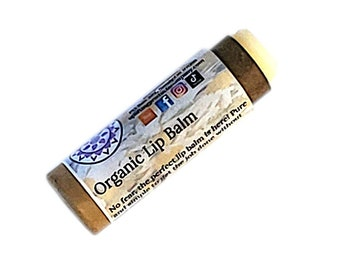 Organic Lip Balm - Biodegradable Tube - Unscented