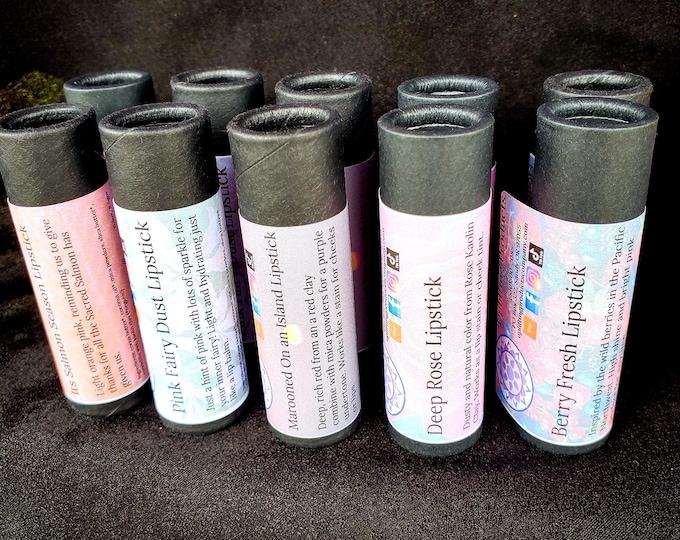 Bulk Biodegradable Lipstick - Stocking Stuffers - Hydrating Cocoa Butter