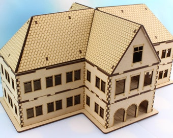 """H.P. Lovecraft """"The Gilman House"""" 28mm Scale Model"""