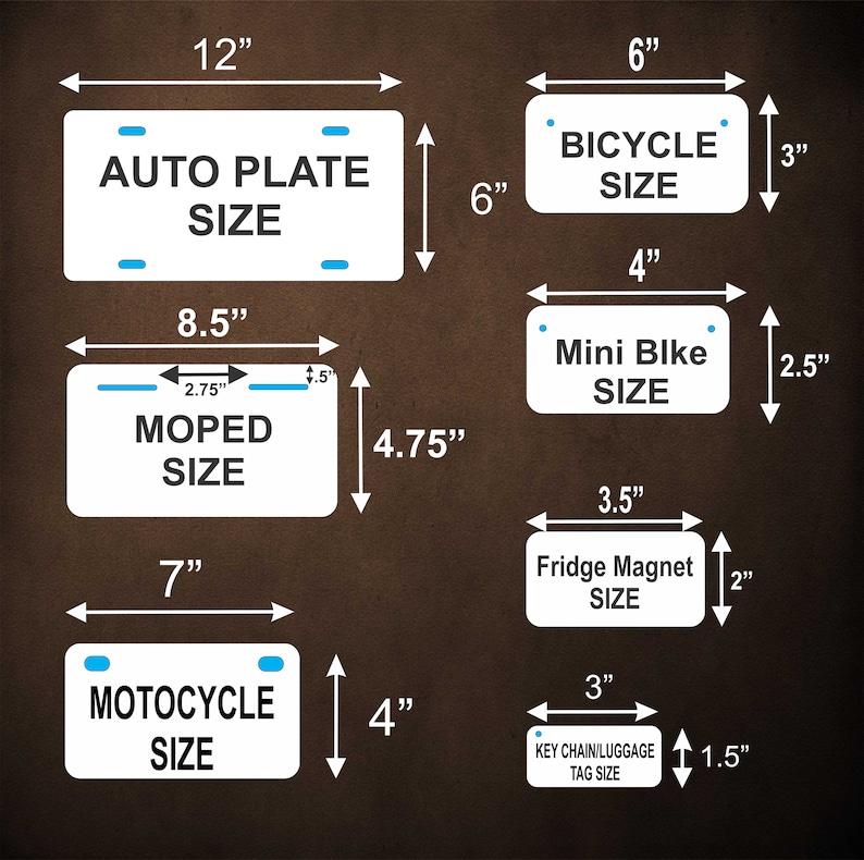 Puerto Rico 2007 Custom Personalized Novelty Auto Motorcycle Moped Mini Bike License Plate