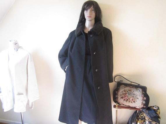 Original 50s Vintage Coat 50s Coat Wool