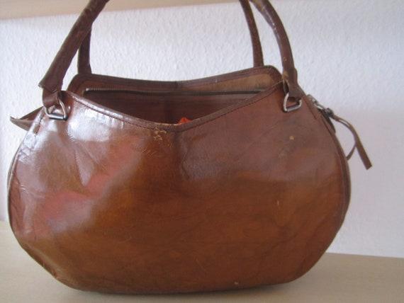 Original 40s Leather Bag 40s Leather Bag Bag Handl