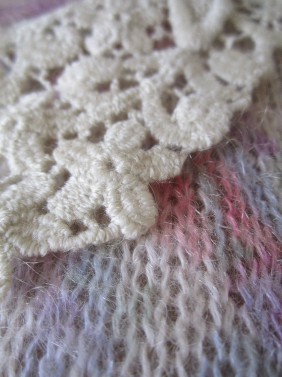 Vintage Kid Mohair Sweater 60s - image 6