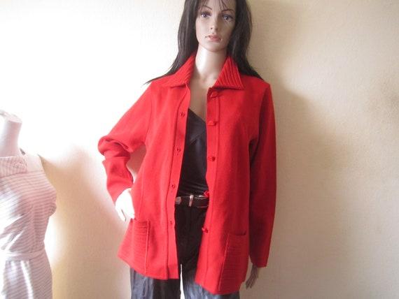 Vintage 80s Wool Cardigan Strickjacke Wolle Oversi