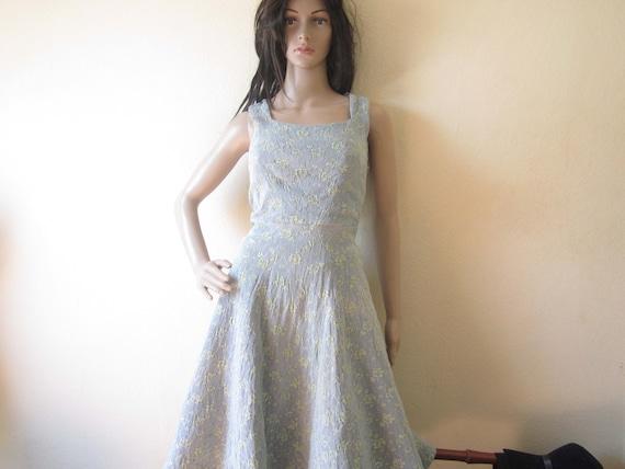 Original 50er Jahre Petticoat Kleid 50s Rockabilly