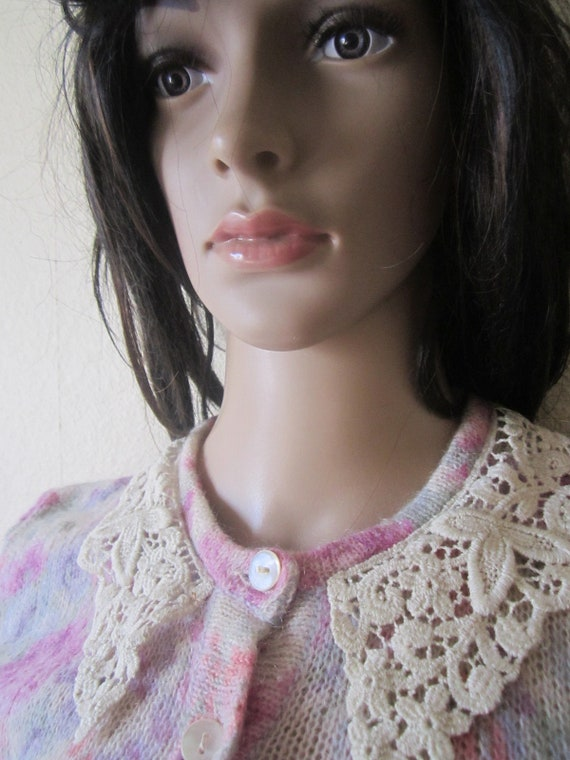 Vintage Kid Mohair Sweater 60s - image 5
