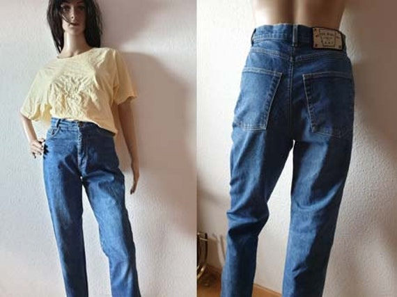 Vintage Betty Barclay High Waist 80s Jeans