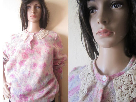 Vintage Kid Mohair Sweater 60s - image 2