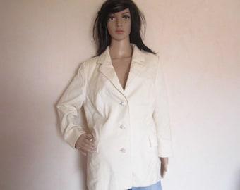 Vintage 60s haute couture Germany blazer Jacket