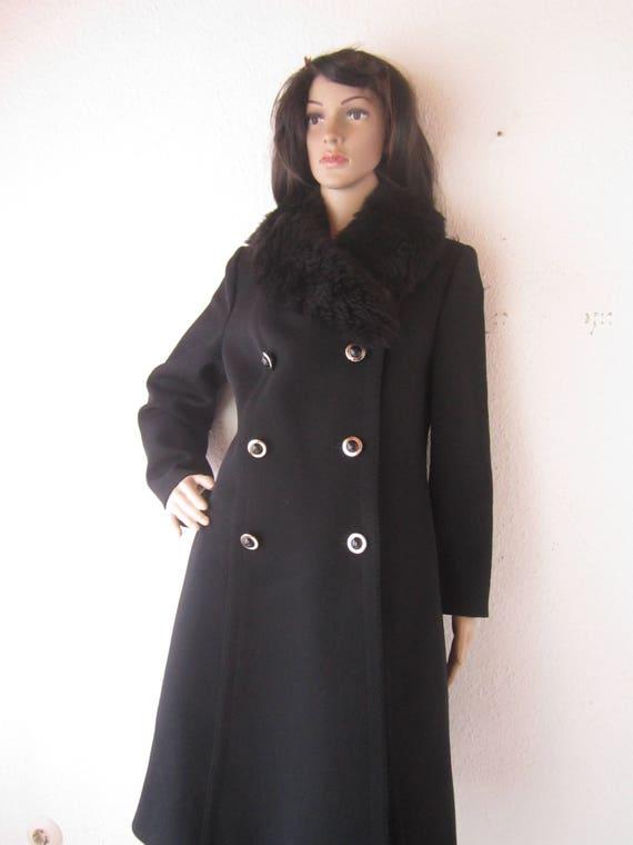 True Vintage 50s A-line Coat 50s Coat Coat Britta