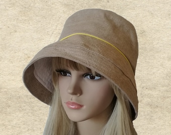 Sun cotton hats, Wide brimmed hats, Boho sun hats, Womens travel hats, Beige floppy hats, Women's summer hats, Wide brim hat, Organic hats