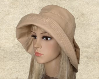 7f680b4b Cotton cloche hats, Suns hats womens, Hats sun cotton, Beach hats women, Summer  hats women, Sun hats for women, Women's fabric hats. SantiniStudio