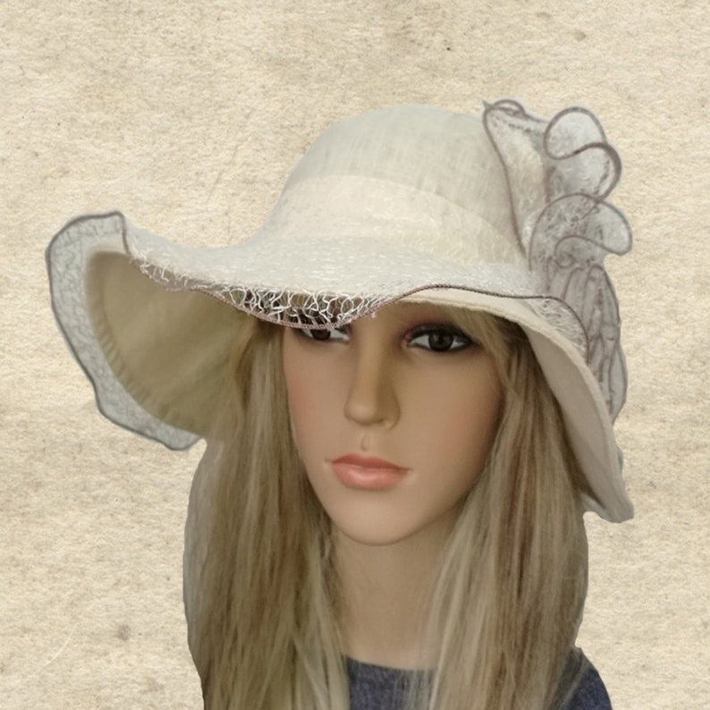 8c6adf040 Wide brimmed hats Summer womens hats Sun hat for summer | Etsy