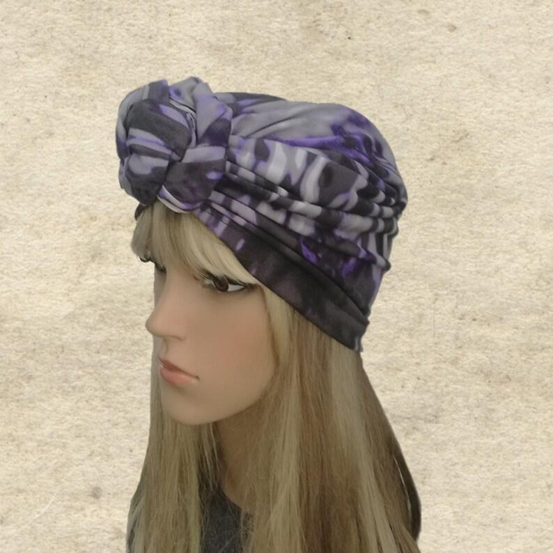 910065e1 Women's turban hat Head covering hat Knot turban women | Etsy