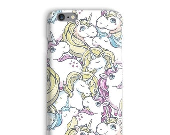 Unicorn iPhonegeval, Awesome iPhonegeval, Blonde iPhonegeval 6, witte iPhonegeval 6, grappige iphone 6s case, Cute iPhonegeval