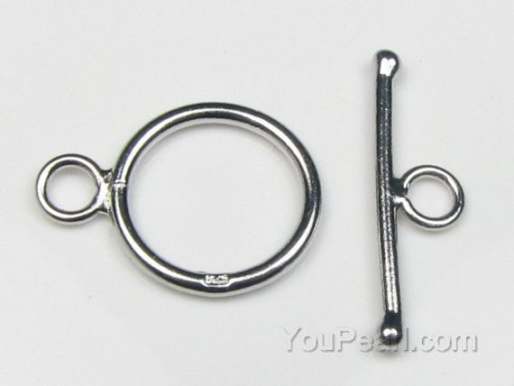 925 Sterling Silver Toggle Clasps Jewellery Findings UK