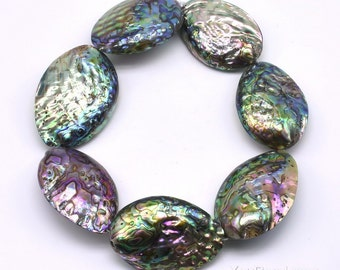 Paua shell beads, 15x25mm 20x30mm 35x50mm large abalone shell, multi colour loose paua shell strand wholesale genuine abalone beads, ABA20XX