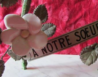 Blanc /& Argent Ailes d/'ange pierres Memorial Tombeau Cimetière Ornement Hommage