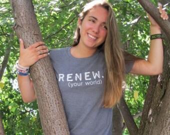 Women's RENEW Organic Fitted Tee