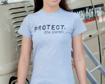 Women's PROTECT Organic Fitted Tee