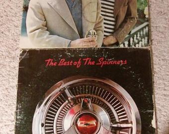 Spinners/Garfunkel Best of the Spinners 1973 - Simon and Garfunkel's Greatest Hits 1972 LP's